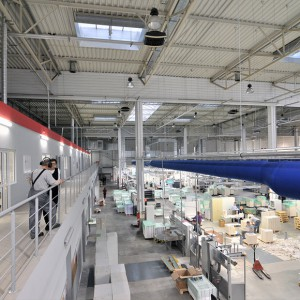 Edelmann Poland - hala produkcyjna drukarni