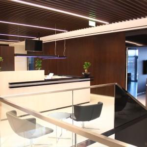 Bista - budynek biurowy przy zakładzie wyrobów dla palaczy